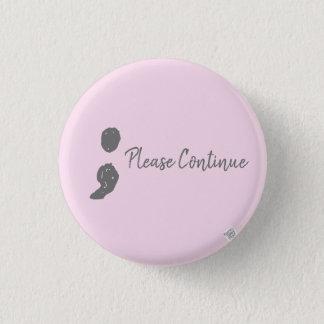 inspirational runder button 3,2 cm