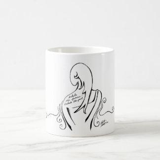 Inspirational Schwarzweiss-Tasse Kaffeetasse