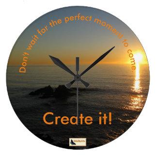Inspirational Uhr - behalten Sie das Bewegen