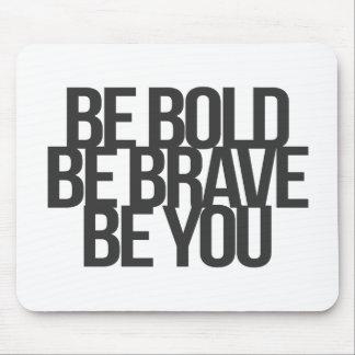 Inspirational und motivierend Zitate Mauspads