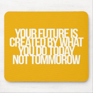 Inspirational und motivierend Zitate Mousepad