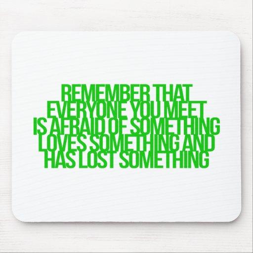 Inspirational und motivierend Zitate Mousepads