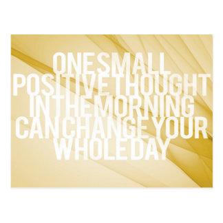 Inspirational und motivierend Zitate Postkarte