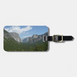Inspirations-Punkt in Yosemite Nationalpark Gepäckanhänger