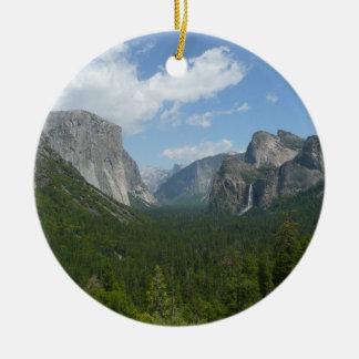 Inspirations-Punkt in Yosemite Nationalpark Keramik Ornament