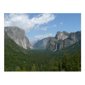 Inspirations-Punkt in Yosemite Nationalpark Postkarte