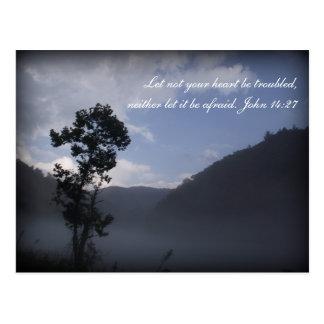 Inspirations-Schriftspostkarte Fontana, NC Postkarte