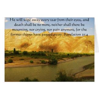 Inspirations-und Stärken-Bibel-Vers-Enthüllung 21 Karte
