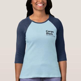 Inspirieren der T - Shirt-Mitteilung auf Schande T-Shirt