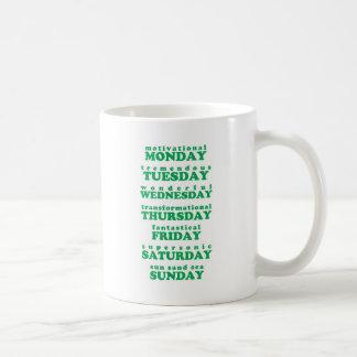 Inspirieren der TagesTasse Kaffeetasse