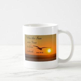 Inspirieren des Bechers Kaffeetasse
