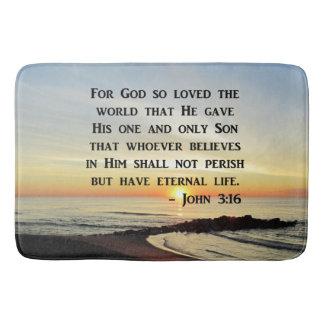 INSPIRIEREN DES JOHN-3:16 BADEMATTEN
