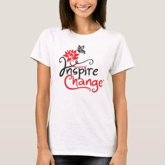 Inspirieren Sie Änderungs-Damen-Baby - die Puppe T-Shirt