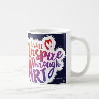 Inspirieren Sie durch Kunst-Tasse Kaffeetasse