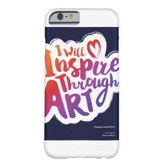 Inspirieren Sie durch Kunst-Telefon-Kasten Barely There iPhone 6 Hülle