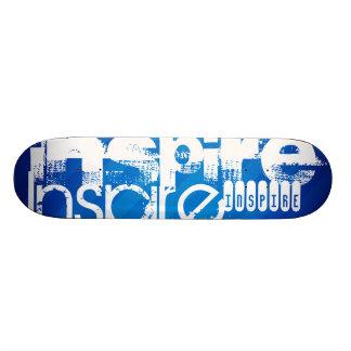 Inspirieren Sie; Königsblau-Streifen Individuelle Skateboards
