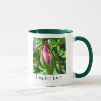 Inspirieren Sie Liebe-Rosen-Tasse Tasse