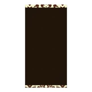 Inspirieren von Muster Browns Paisley Fotogrußkarten