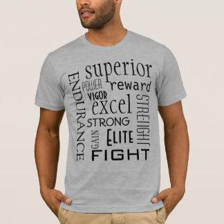 Inspirierend Athlet T-Shirt