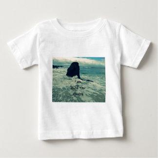 Inspirierend Bibel-Vers bin ich mit Ihnen immer Baby T-shirt
