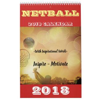 Inspirierend Bilder und ZitateNetball 2018 Abreißkalender