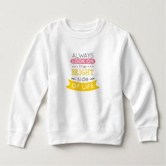 Inspirierend die Sonnenseite des Sweatshirts des