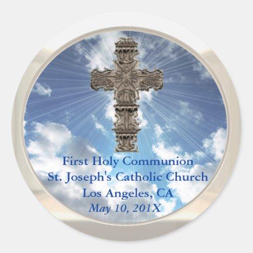 Inspirierend erste heilige Kommunions-Aufkleber