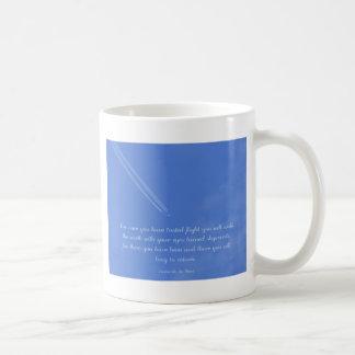 Inspirierend Flugzitat Leonardo da Vincis Kaffeetasse