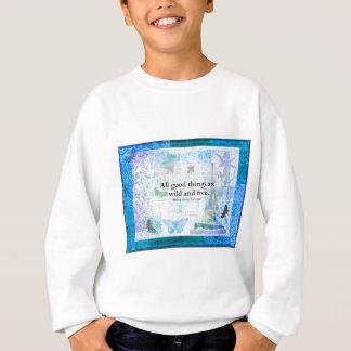 Inspirierend FREIHEITS-Zitat Henry David Thoreaus Sweatshirt