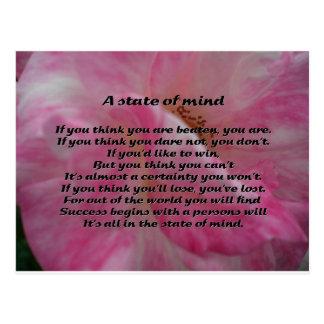 Inspirierend Gedicht Postkarte