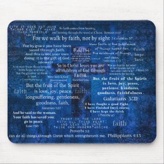 Inspirierend Glauben-Bibel-Verse Mousepad