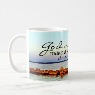 Inspirierend: Gott macht eine Weise… Kaffeetasse