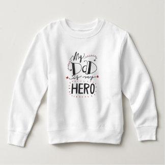 Inspirierend ist mein Vati mein Sweatshirt des
