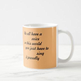 Inspirierend Kaffeetasse [wir alle haben eine