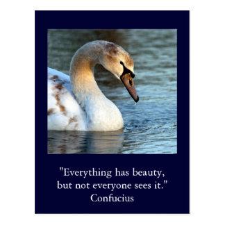 Inspirierend Karte Zitat-Konfuzius-Schönheit 1