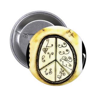 Inspirierend Knöpfe Runder Button 5,7 Cm