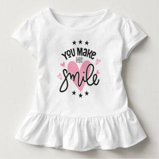 Inspirierend lassen Sie mich lächeln | Kleinkind T-shirt