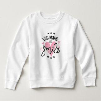 Inspirierend lassen Sie mich lächeln | Sweatshirt