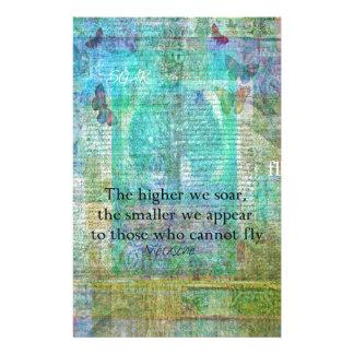 Inspirierend Nietzsche STEIGEN Zitat an Briefpapier