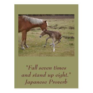 Inspirierend Postkarte: Ermutigung Postkarte
