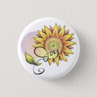 Inspirierend Sonnenblume Runder Button 2,5 Cm