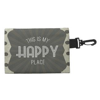 Inspirierend Wort-glücklicher Platz