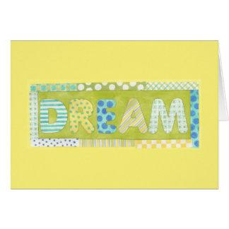 Inspirierend Wörter durch Traum Megan Meagher | Karte