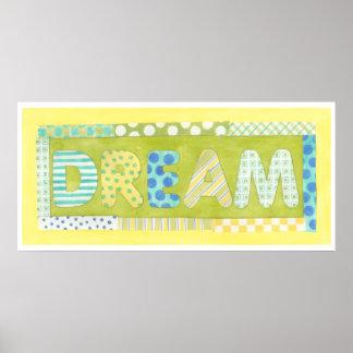 Inspirierend Wörter durch Traum Megan Meagher | Poster