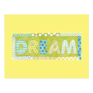 Inspirierend Wörter durch Traum Megan Meagher | Postkarte