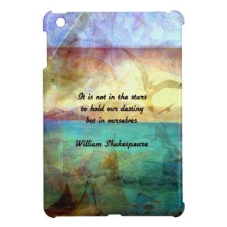 Inspirierend Zitat Shakespeare über Schicksal iPad Mini Hülle