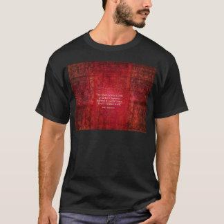 Inspirierend Zitat St Augustine auf WAHRHEIT T-Shirt