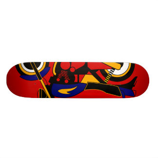 Inspiriert durch Kawasaki Z1 18,1 Cm Old School Skateboard Deck