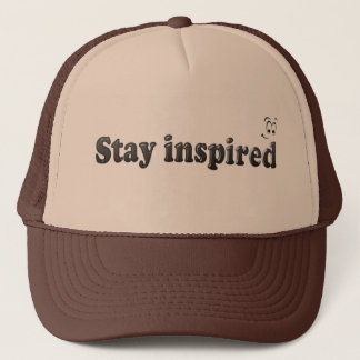 Inspirierter Hut des Aufenthalts Truckerkappe