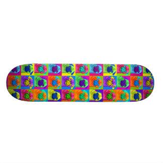 inspirierter MopsSkateboard Personalisiertes Skateboarddeck
